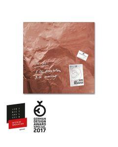 sigel Glas-Magnetboard / Magnettafel artverum® Pure-Copper 48x48 cm
