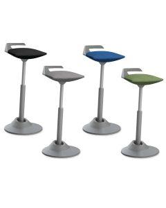 muvman Office Vario Stehhilfe Sitzhilfe Gestell grau