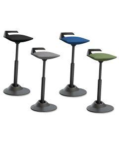 muvman Office Vario Stehhilfe Sitzhilfe Gestell schwarz