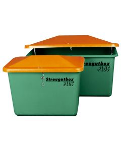 Cemo Streugutbehälter grün von 550 l bis 2200 l, ohne Entnahmeöffnung