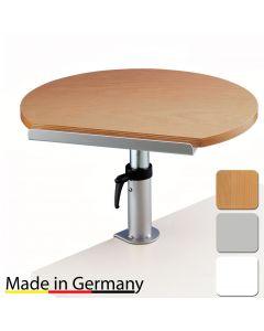 Tischpult mit neigbarer Platte und Klemmfuß