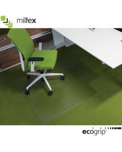 Ecogrip Bodenschutzmatte 100% Recyclebar mit Ankernoppen für Teppichböden