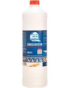 Händedesinfektion 1 Liter, Lieferumfang Palette mit 480 Flaschen