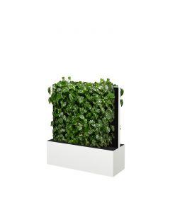 Mobile Pflanzenwände Höhe 1310 mm, weiß