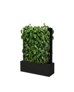 Mobile Pflanzenwände Höhe 1635 mm, schwarz-grau