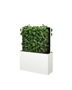 Mobile Pflanzenwände Höhe 1635 mm, weiß