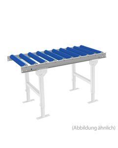 Leicht-Rollenbahn LxB 1000x500 mm Kunststoffrollen 125 mm Achsabstand