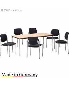 Sitzgruppe Styl - 1 Tisch und 4
