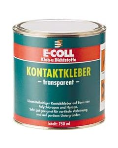 Kontaktkleber transparent 750 ml, E-Coll