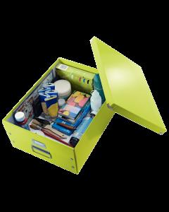 Leitz WOW Click & Store Aufbewahrungs- und Transportbox Groß (Für A3)