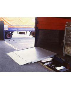 Aluminium-Überfahrbrücke lang