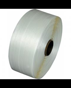 Polyesterband für Umreifungsmaschinen, verleimt