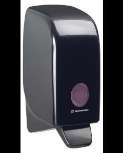 Handreinigerspender für 1-l-Kassette in schwarz