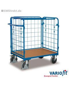 Paket-Dreiwandwagen niedrig, 500 kg Tragkraft