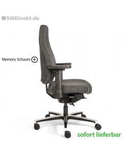 Bürodrehstuhl SW Memory M mit Memory Schaum