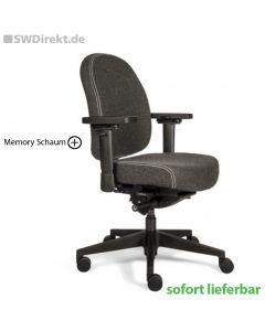 Bürodrehstuhl SW Memory S mit Memory Schaum