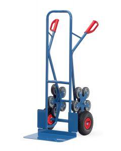 Treppenkarre 5-Sterne 200 kg Tragkraft, große Schaufel