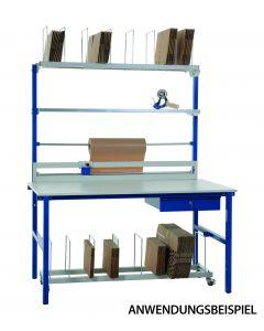 Pack- und Arbeitstisch 160 / 200 cm Breite