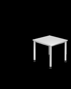 Schreibtisch 80x80 cm mit 4-Fuß-Gestell