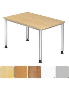 Schreibtisch 120x80 cm mit 4-Fuß-Gestell