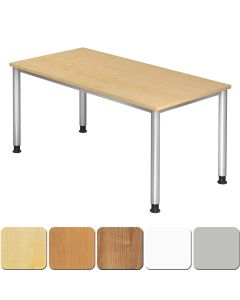 Schreibtisch 160x80 cm mit 4-Fuß-Gestell