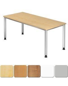 Schreibtisch 180x80 cm mit 4-Fuß-Gestell