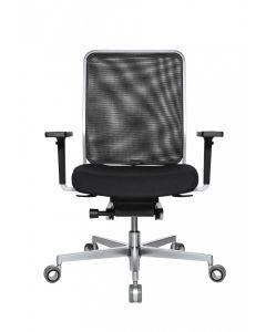 WAGNER Bürodrehstuhl W1 Low - Rückenlehne Netz / Sitzfläche Stoff