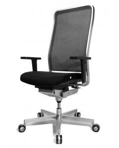 WAGNER Bürodrehstuhl  W1 High - Rückenlehne Netz / Sitzfläche Stoff