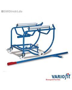 Fasskipper für 200 Liter mit 2 Stahlrollen, 250 kg Tragkraft