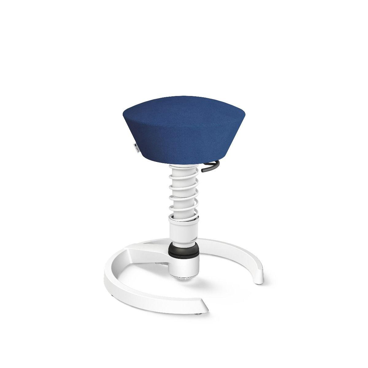 Swopper Classic weiss Mikrofaser (Comfort) blau