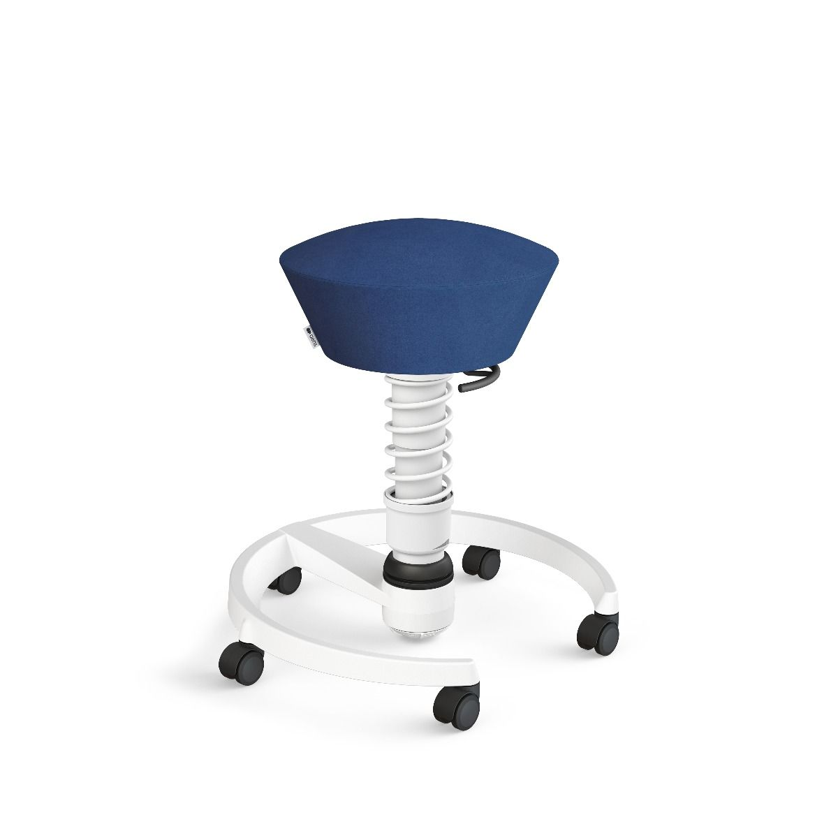 Rolling Swopper weiss Mikrofaser (Comfort) blau