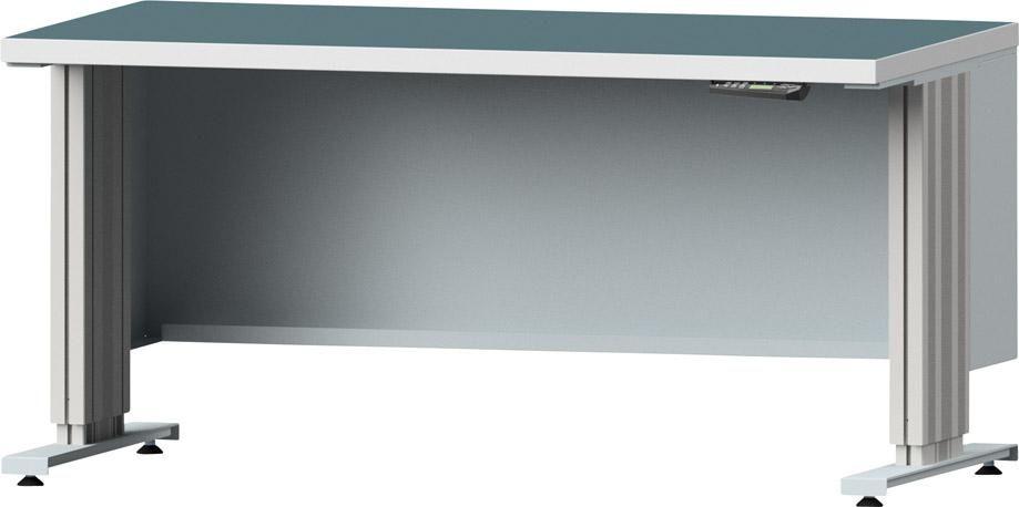 Arbeitstischsystem Lift, Kunststoff-Schichtplatte, Breite: 1500 mm