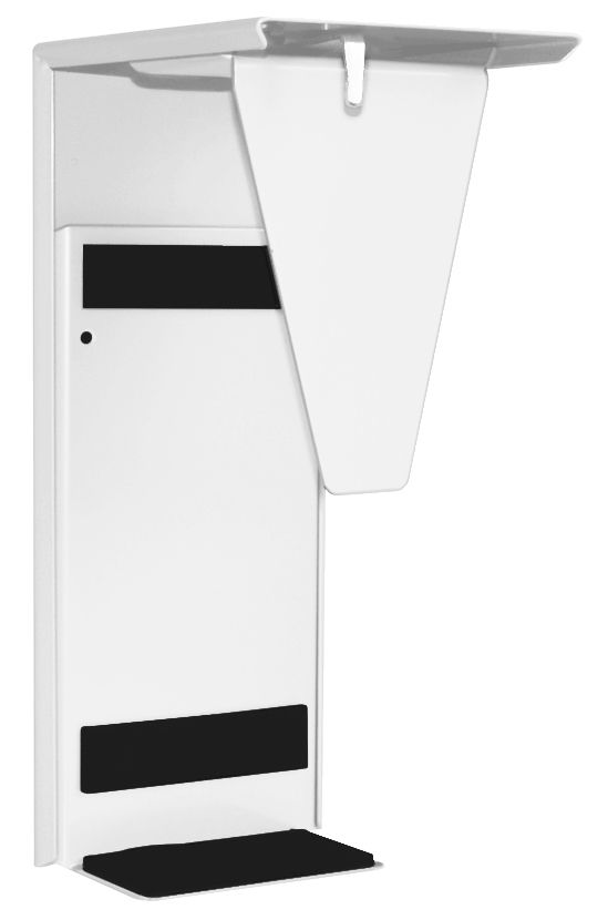 PC Halterung weiß