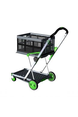 Transport-Klappmobil Clax Green Edition bestehend aus 1 Klappmobil mit 1 gratis Clax Faltbox