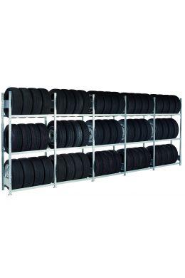 Reifenregal Containerregal-Set für 20-Fuß-Container