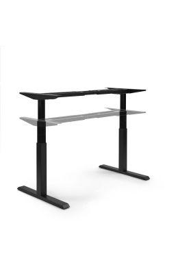 SWDirekt.de Tischgestell elektrisch BLACK LINE - schwarz
